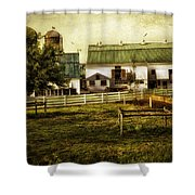 Farmland In Intercourse - Pennsylvania Shower Curtain