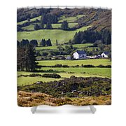 Farmland Near Kilgarvan County Kerry Shower Curtain