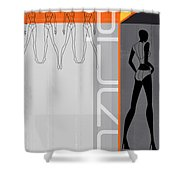 Fashion Dance Shower Curtain