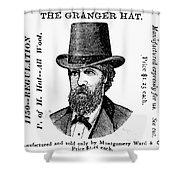 Fashion: Granger Hat Shower Curtain