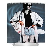 Fashion Illustration 86 Shower Curtain