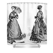 Fashion: Women, 1868 Shower Curtain