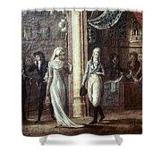 Fashionable Parisians, 1799 Shower Curtain