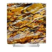 Fast Flowing Shower Curtain
