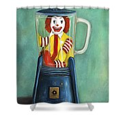 Fast Food Nightmare 2 The Happy Meal Shower Curtain