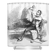Father And Baby Shower Curtain