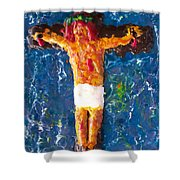 Father  Forgive  Them Shower Curtain