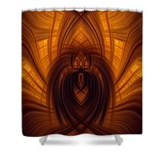 Fawning Obsequiousness Shower Curtain