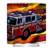 Fdny Engine 68 Shower Curtain