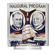 Fdr: Inauguration, 1933 Shower Curtain