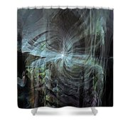 Fear Of The Unknown Shower Curtain