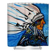 Feather Head Shower Curtain