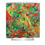 Feathered Nest Shower Curtain