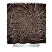 Feathers In Bloom Shower Curtain