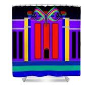Federal Blue Shower Curtain