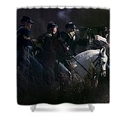 Federal Cavalry Shower Curtain