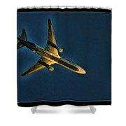 Fedex Plane Shower Curtain