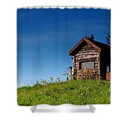 Feel The Breeze Shower Curtain by Lois Bryan