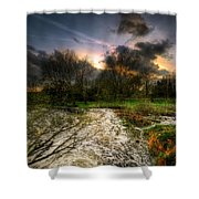 Feeling Over The Weather Shower Curtain