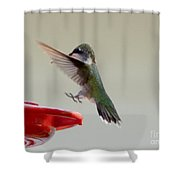Feet Out Shower Curtain