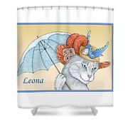 Feline Finery - Leona Shower Curtain