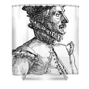 Felix Plater, Swiss Physician Shower Curtain