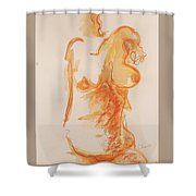 Female Form Shower Curtain
