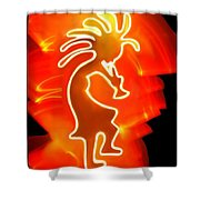 Female Kokopelli Shower Curtain