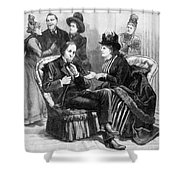 Female Lobbyists, 1888 Shower Curtain
