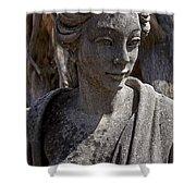 Female Statue Shower Curtain