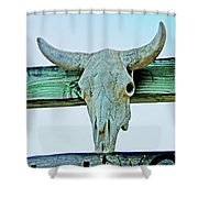 Fence Decor Ranch Style Shower Curtain
