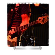 Fender Bender Shower Curtain by Bob Christopher