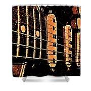 Fender In Brown Shower Curtain
