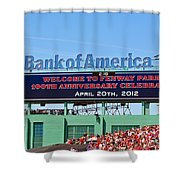 Fenway's 100th Shower Curtain