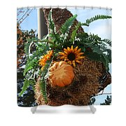 Fern Haired  Shower Curtain