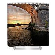 Fernbridge Sunset Shower Curtain
