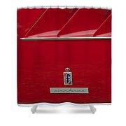 Ferrari Pininfarina Emblem 3 Shower Curtain