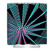 Ferris Tracings 560 Shower Curtain
