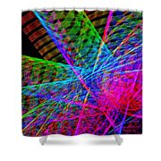 Ferris Tracings 650 Shower Curtain