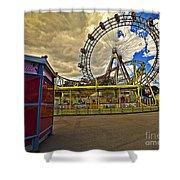 Ferris Wheel - Vienna Shower Curtain