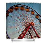 Ferris Wheel Iv Shower Curtain