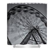 Ferris Wheel V Shower Curtain