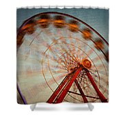Ferris Wheel Vi Shower Curtain
