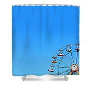 Ferrisweel Shower Curtain