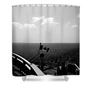 Ferry Ride Shower Curtain