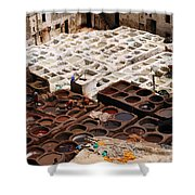Fez Tannery Shower Curtain