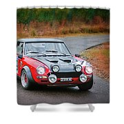 Fiat Abarth Shower Curtain
