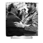 Fidel Castro Shower Curtain