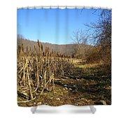 Field Of Corn Shower Curtain