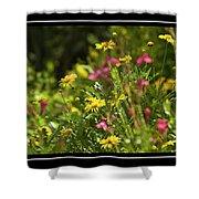 Field Of Wildflowers Shower Curtain